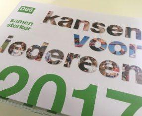 D66 Verkiezingsprogramma 2017